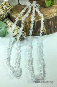 Clear Quartz Necklace, Bracelet