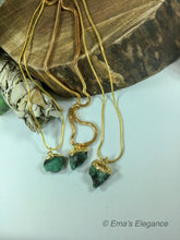 Load image into Gallery viewer, Emerald Necklace, Bracelet, Pendant