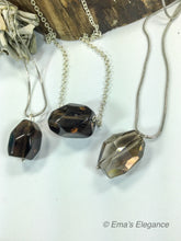 Load image into Gallery viewer, Large Smoky Quartz Pendant