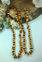Load image into Gallery viewer, Multi Colored Baltic Amber Necklace