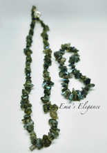 Load image into Gallery viewer, Labradorite Necklace, Labradorite Bracelet, Labradorite Jewelry