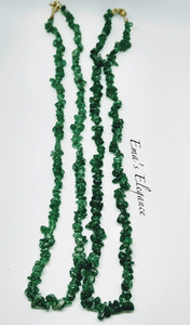 Adventurine Necklace and Bracelet