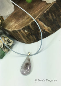 Lavender Amethyst Tear Drop Pendants
