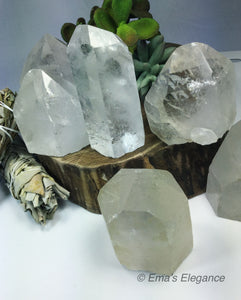 Clear Crystal Quartz Stones