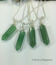 Load image into Gallery viewer, Adventurine Wand Pendant