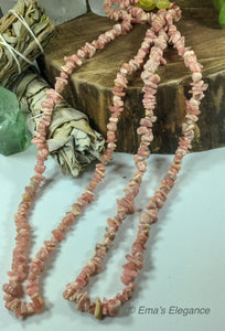 Rhodochrosite Necklace, Bracelet