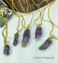 Load image into Gallery viewer, Amethyst Raw Pendant