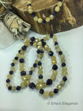 Load image into Gallery viewer, Citrine Blue Goldstone Mix