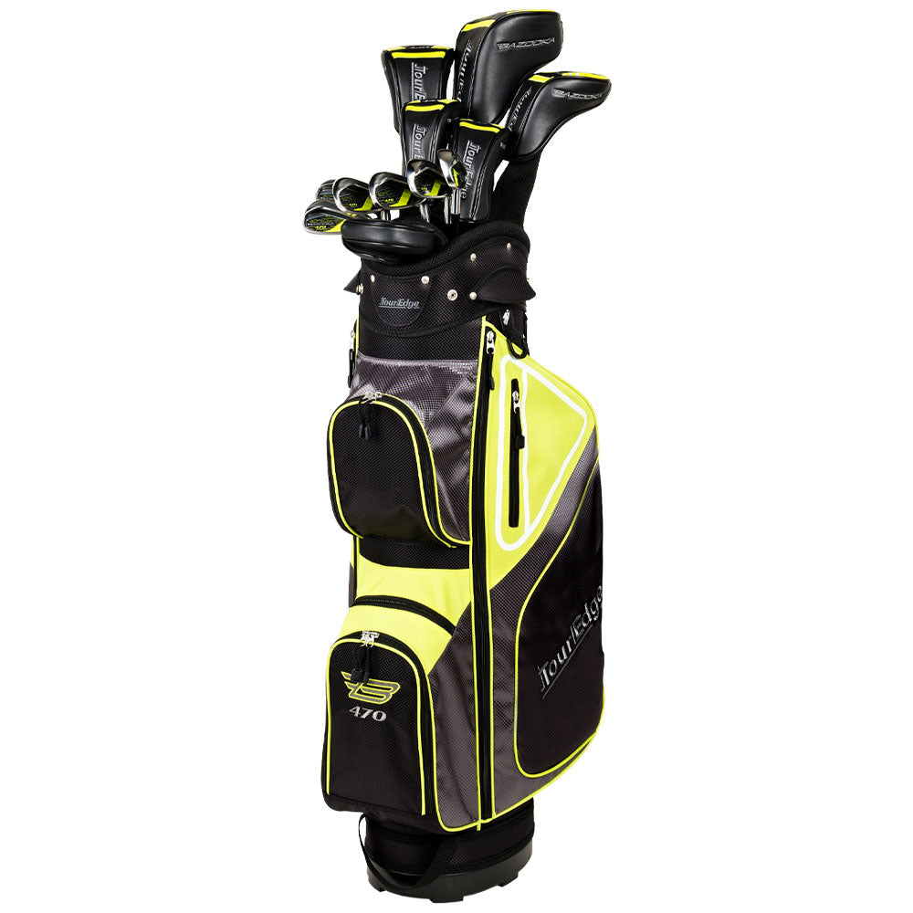 Tour Edge Bazooka 470 Black Complete Men's Set