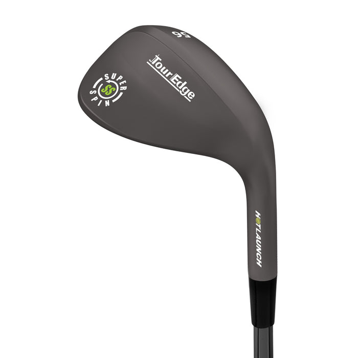 Certified Pre-Owned Tour Edge Hot Launch Black Nickel Super Spin Wedge