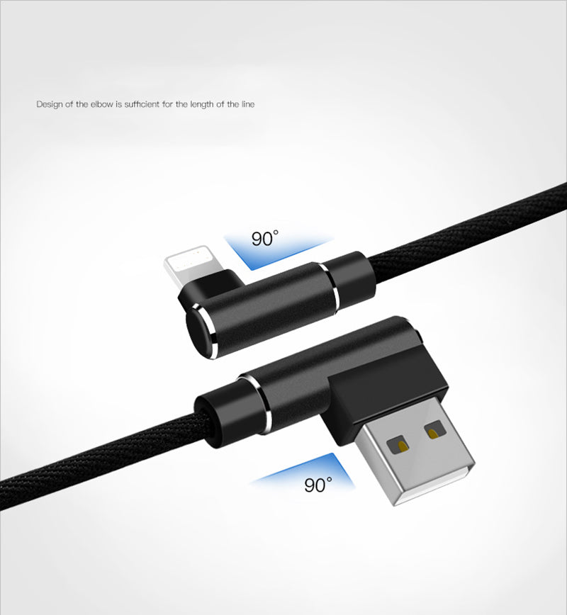 super popular 22c12 a20c4 Suntaiho 90 degree Elbow for Lightning cable for iphone 6s Plus for iphone  cable USB Charger Cable Sync For iPhone X 7 8 plus 5s