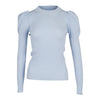 Neo Noir - Vince Knit Blouse Light Blue