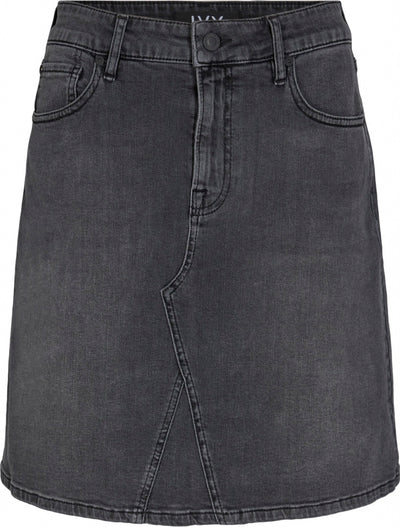 Ivy Copenhagen - Angie Denim Skirt Charcoal Black