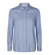 Co'Couture - Florence Poplin Shirt Pale blue