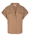 Co'Couture - Elle Utility Shirt Khaki