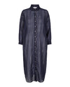 Co'Couture - Nyla Shirt Stripe Dress Navy