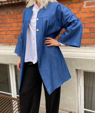 Design by Laerke - Rayon Blue Jacket