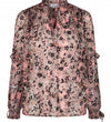 Co'Couture - Gemma Frill Blouse Candyfloss