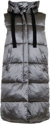 Neo Noir - Manny Metal Puffer Waistcoat Antracit
