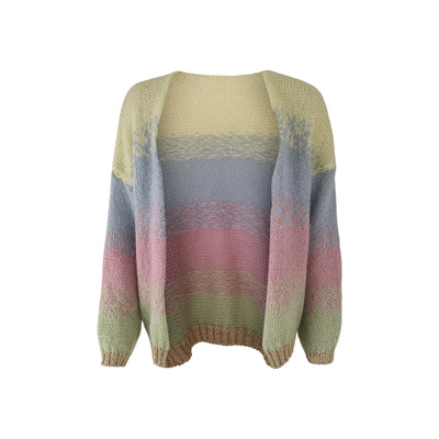 Black Colour - Fancy Faded Pastel Cardigan