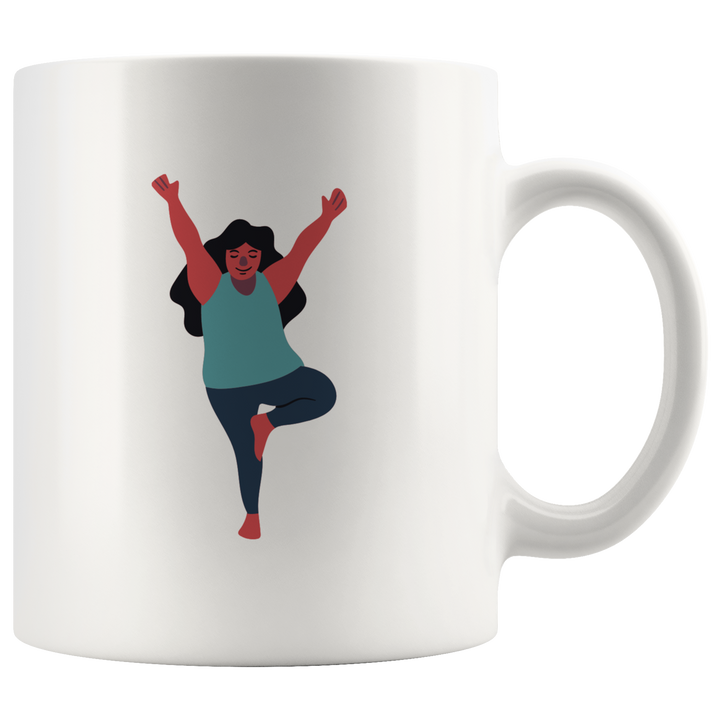 Tree Pose Mug - Prone Pigeon
