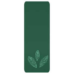 Double Green Leaf Yoga Mat