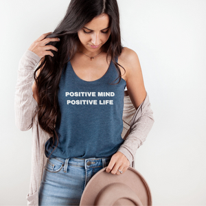 Positive Mind and Life Racerback Tank