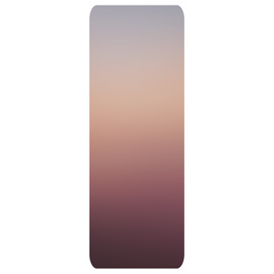 Sunset Checkered Gradient Yoga Mat