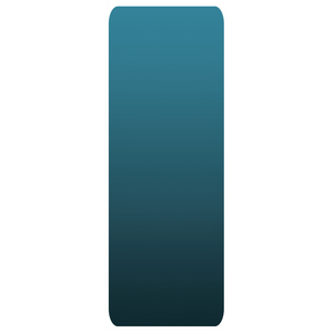Teal Gradient Yoga Mat