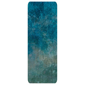 Blue Marbled Yoga Mat