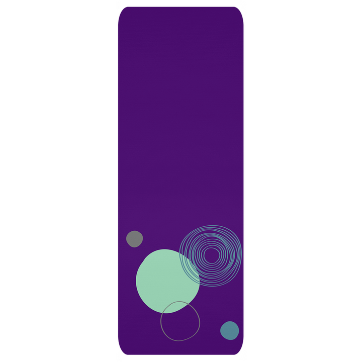 Teal Purple Yoga Mat