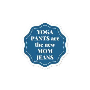 Yoga Pants Mom Jeans Sticker