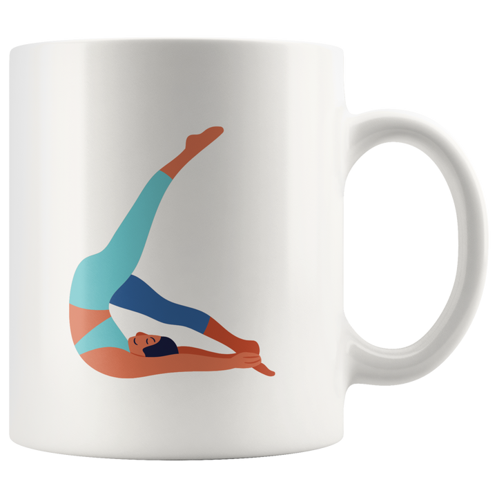 Light Blue Pose Mug - Prone Pigeon
