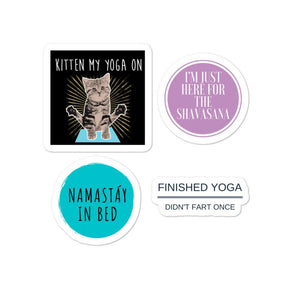 Silly Yoga Sticker Pack