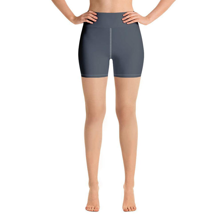 Yoga Shorts with Pocket - Grey - Prone Pigeon