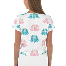 Load image into Gallery viewer, Lotus Crop Tee