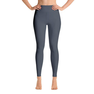 Ankle Length Leggings with Pocket - Grey