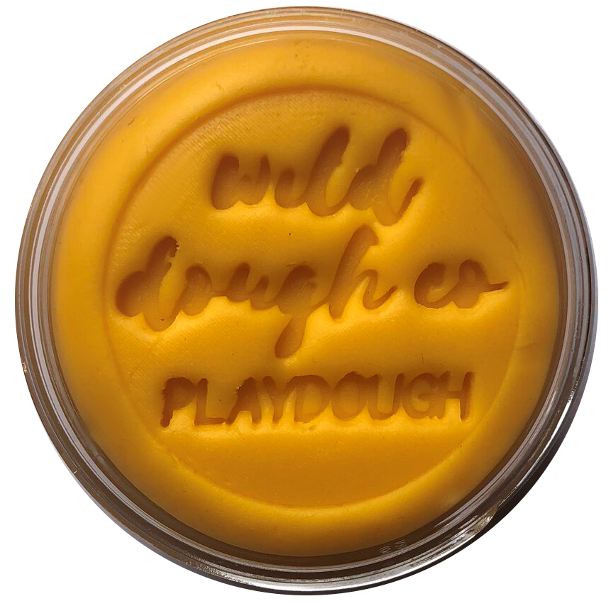Buttercup Gold Playdough - Wild Dough Co