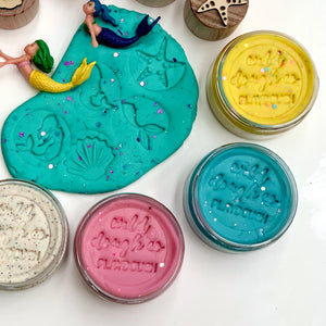 Mermaid Playdough