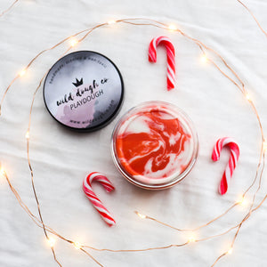 Candy Cane Playdough - Wild Dough Co