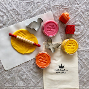 Whale Playdough Bag - Wild Dough Co