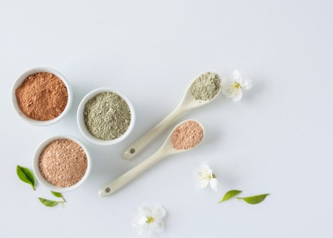 White Kaolin Clay Types Natural Cosmetics