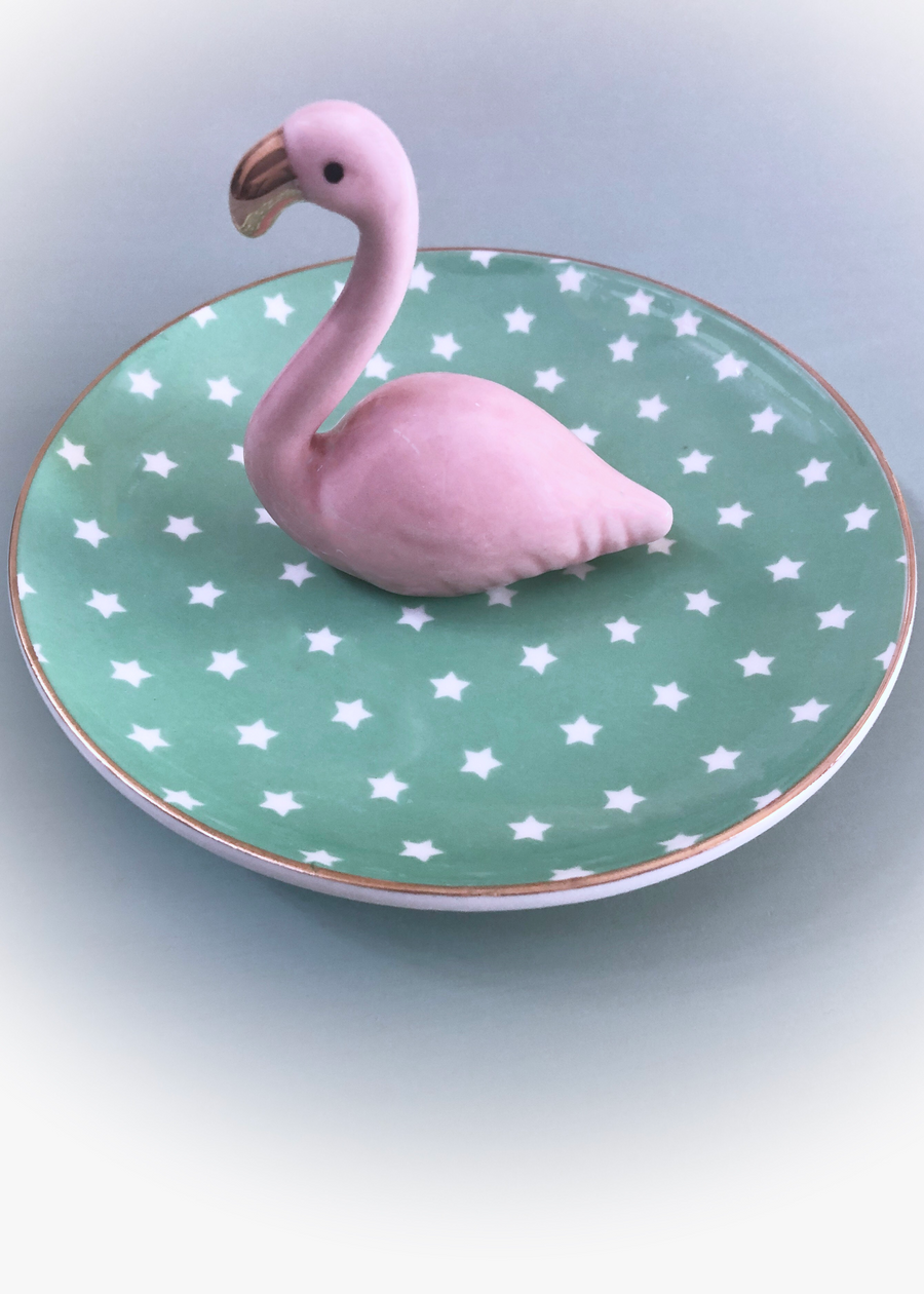 Flamingo Trinket Dish