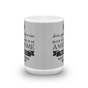 Welsh Terrier Awesome Mug