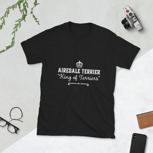 Airedale Terrier King of Terriers Short-Sleeve Unisex T-Shirt