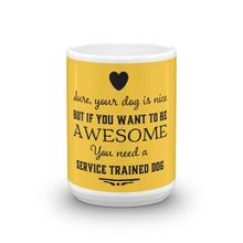 Awesome Service Dog Mug