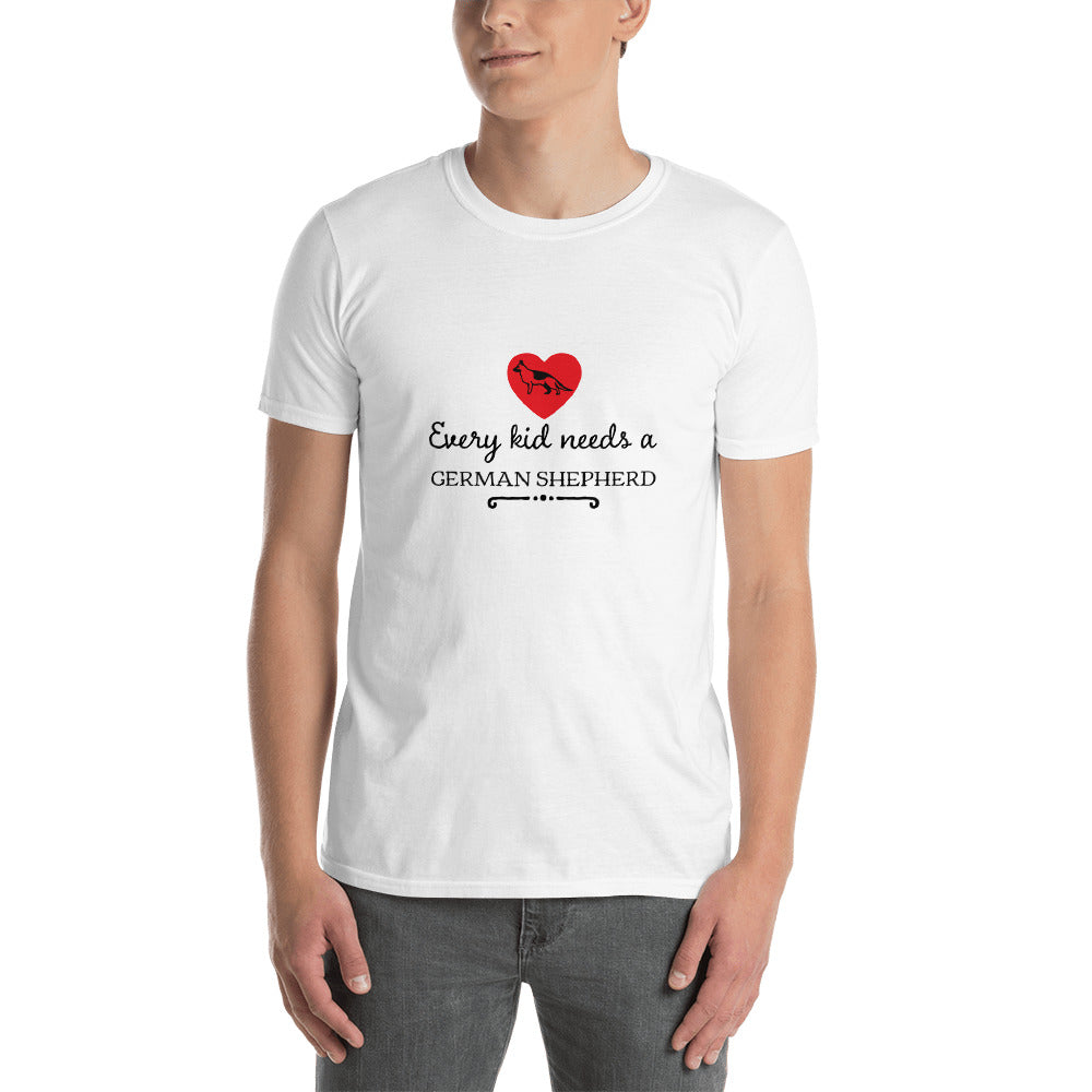 Every kid needs a German Shepherd Short-Sleeve Unisex T-Shirt