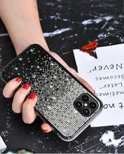 Amazing 7 Gradient Color Phone Case, Women's Bling Bling Creativity Case, Compatible with iPhone 12 Pro Max Case, for iPhone 12 Pro Max 6.7 Inches