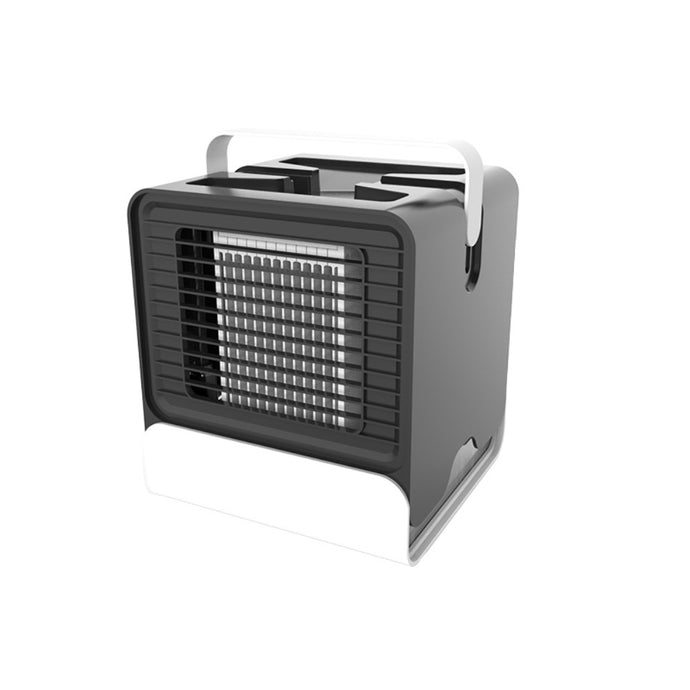 Amazing 7 Portable Air Conditioner, Small AC Unit, Personal Space Cooler, Mobile Quiet Aircon, Negative Ion Air Cooling, Air Purifier, Humidifier, Sterilizer, Desktop Cooling Fan