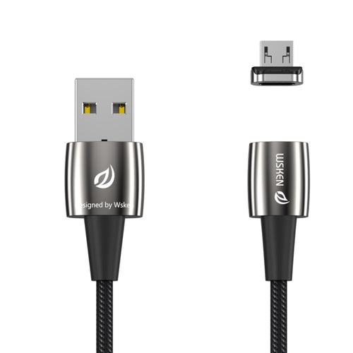 Wsken X1 Pro Micro USB Magnetic Fast Charging Cable, Portable Android Phone Charger Cord, Data Sync for Android Samsung Galaxy Kindle Camera
